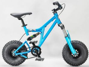 Mafia Mini Rig Teal Rocker BMX  Bike